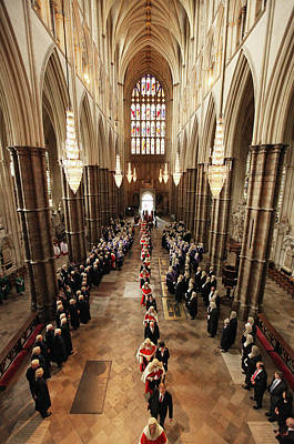 Photograph - Judges Attend Their Annual Service Of by Dan Kitwood