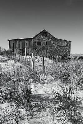 Photograph - Judges Shack In Black And White by Colleen Kammerer