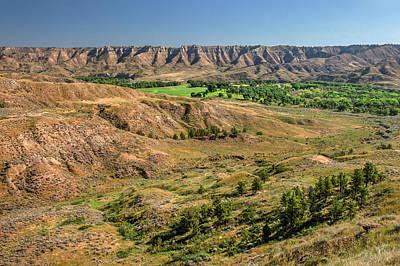 Photograph - Judith River Breaks No. 2 by Todd Klassy