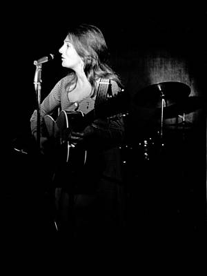 Photograph - Judy Collins At The Cafe Au Go Go by Michael Ochs Archives