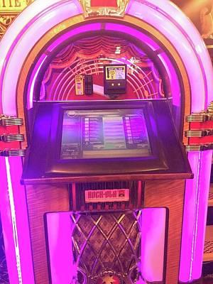 Cindy Digital Art - Jukebox Hero by Cindy Greenstein