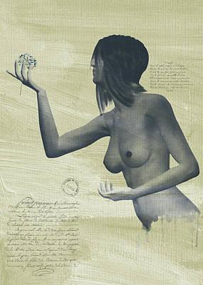 Digital Art - Julia by Jan Keteleer