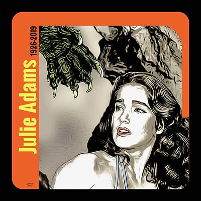 Digital Art Rights Managed Images - Julie Adams Tribute Royalty-Free Image by Greg Joens