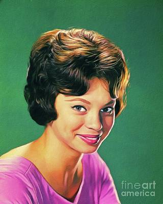 Royalty-Free and Rights-Managed Images - Juliet Prowse, Vintage Actress by Esoterica Art Agency