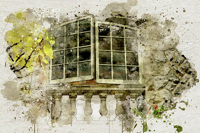 Photograph - Juliet's Window by Marilyn Wilson