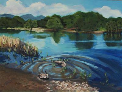 Painting - Jump In by Claudia Klann