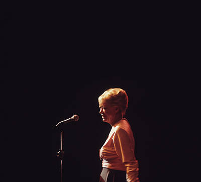 June Christy Performs At Newport Art Print by David Redfern