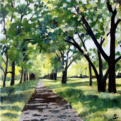 Painting - June Common by Sarah Lynch