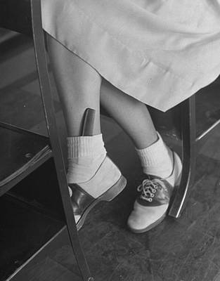 Photograph - June Runyon by Nina Leen