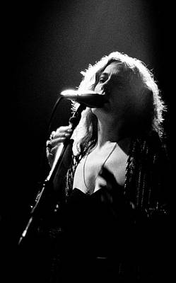 Photograph - June Tabor Playing Live London 1990 by Martyn Goodacre