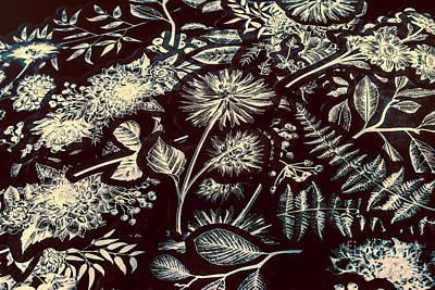 Floral Arrangement Photograph - Jungle Flatlay by Jorgo Photography - Wall Art Gallery