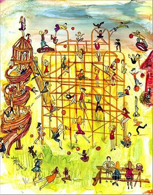 Jungle Gym Whimsy Original