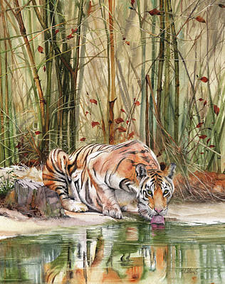 Painting - Jungle Spirit by Peter Williams