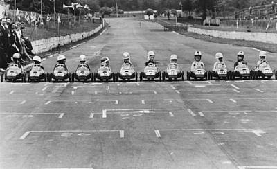 Photograph - Junior Grand Prix by Central Press