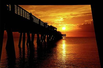 Photograph - Juno Pier 3 by Steve DaPonte
