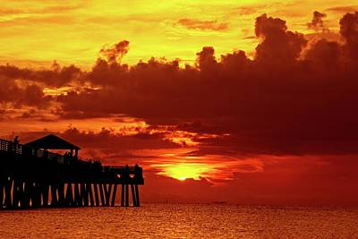Photograph - Juno Pier 1 by Steve DaPonte
