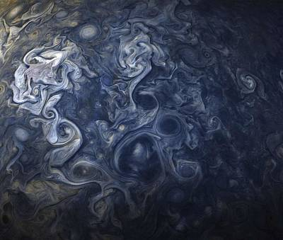 Painting - Jupiter Blues by Celestial Images