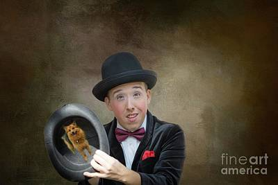 Mixed Media - Just A Magic Trick by Eva Lechner