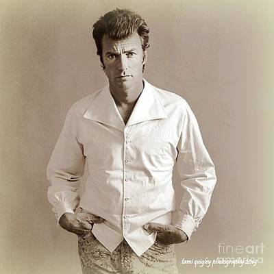 Photograph - Just Clint by Tami Quigley