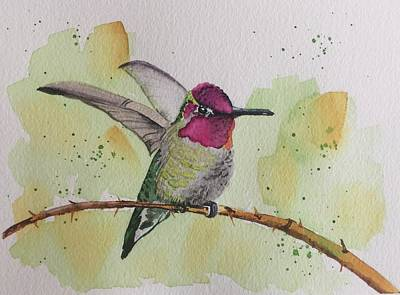 Painting - Just Humming Along by Sonja Jones