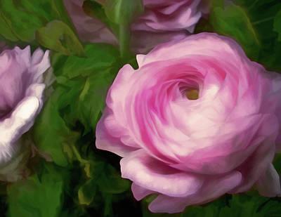 Mixed Media - Just Pink 20 by Lynda Lehmann