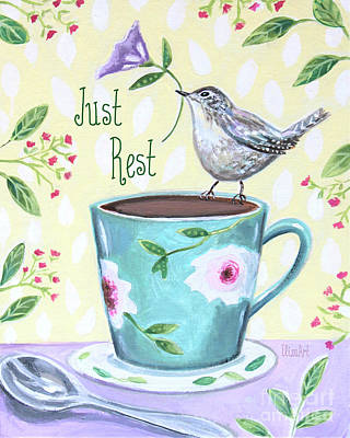 Painting - Just Rest by Elizabeth Robinette Tyndall