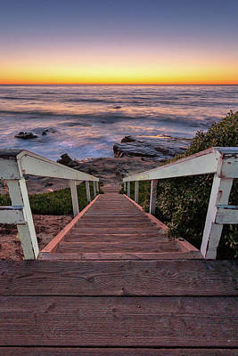 Photograph - Just Steps To The Sea by Peter Tellone