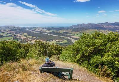 Wall Art - Photograph - Kaikoura New Zealand Viewpoint by Joan Carroll