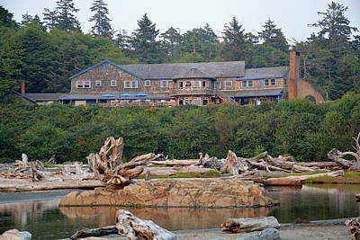 Photograph - Kalaloch Lodge by Bruce Gourley