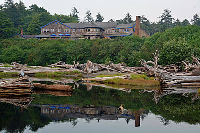 Photograph - Kalaloch Lodge Reflection by Bruce Gourley