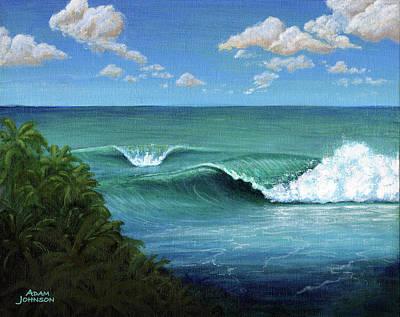 Painting - Kalana Nalu by Adam Johnson