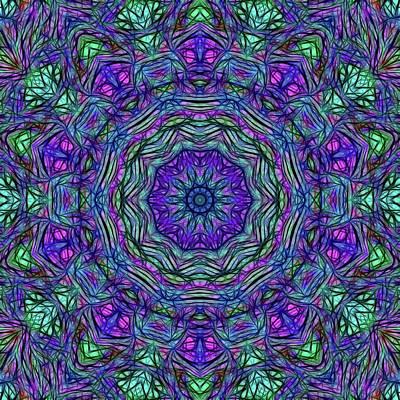 Digital Art - Kaleidoscope 114 by Cindy Boyd