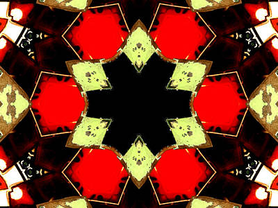 Digital Art - Kaleidoscope Abstract 10 by Artist Dot