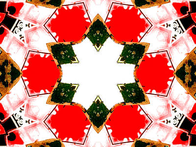 Digital Art - Kaleidoscope Abstract 10a by Artist Dot