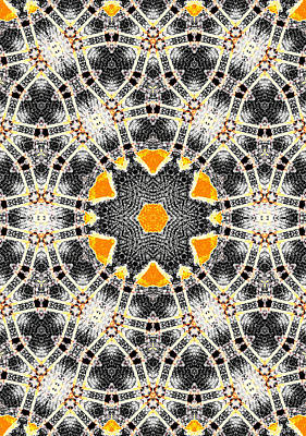 Digital Art - Kaleidoscope Abstract Pattern 7 by Artist Dot