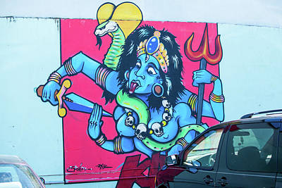 Photograph - Kali In A Parking Lot by Tom Cochran