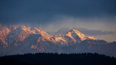 Photograph - Kamnik Alps In The Morning. by Ian Middleton