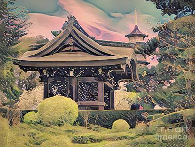 Photograph - Kanagawa - The Japanese Garden by Leigh Kemp
