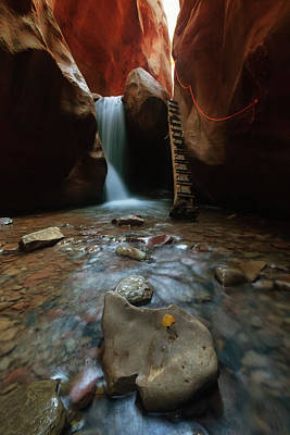Photograph - Kanarraville Falls by Tassanee Angiolillo