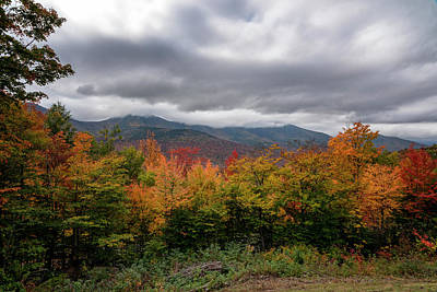 Photograph - Kancamagus Highway Scene by Tom Singleton