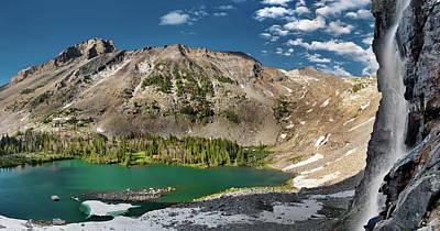 Photograph - Kane Lake Panoramic by Leland D Howard