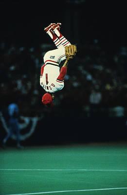 Photograph - Kansas City Royals V St. Louis Cardinals by Ronald C. Modra/sports Imagery