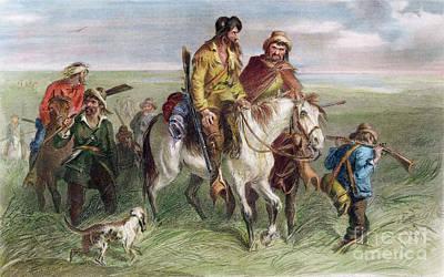 Photograph - Kansas-nebraska Act, 1856 by Felix Darley