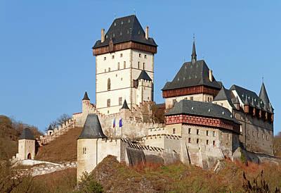 Karlstejn Castle, Czech Republic Art Print by Rusm