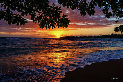 Photograph - Kauaian Sunrise by Tim Kathka