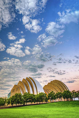 Photograph - Kauffman Arts Center Grand Ballroom Landscape - Kansas City by Gregory Ballos