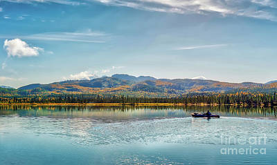 Photograph - Kayaking In Alaska by Patrick Wolf
