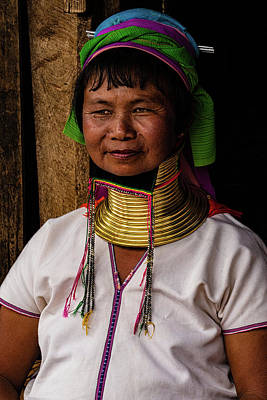 Photograph - Kayan Woman by Chris Lord