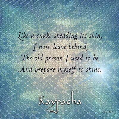 Digital Art - Kaypacha - March 13, 2019 by Richard Laeton