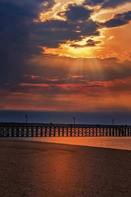 Photograph - Keansburg Fishing Pier Nj by Susan Candelario